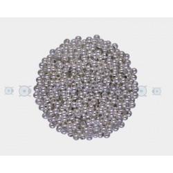 PAQUETE CHAFAS 2,5MM PLATEADAS (50 PIEZAS)
