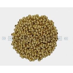 PAQUETE CHAFAS 2,50 MM DORADAS (50 PIEZAS)