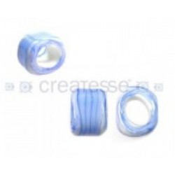 PASADOR CRISTAL REGALIZ 18X13 WAVE STRIPES CELESTE