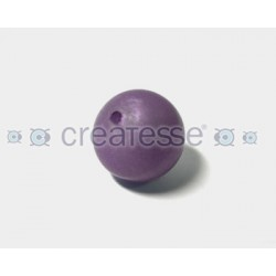 BOLA CRILICO LISA 19MM MORADO