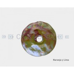 CERAMICA DISCO 31MM NARANJA Y LIMON
