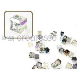 CUBO CRISTAL 4MM (ID 1MM) -20 UN 1051 CRYSTAL