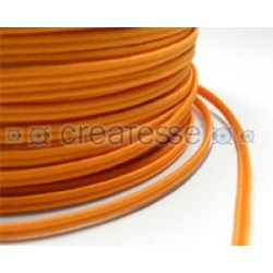 CORDON POLIESTER SOUTACHES 3MM Nº 309 NARANJA