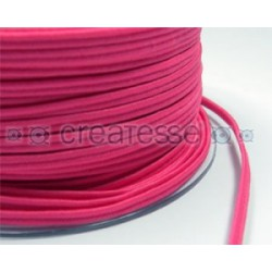 CORDON POLIESTER SOUTACHES 3MM Nº 998 LUMI FUCSIA