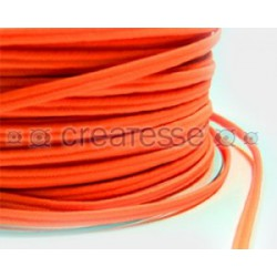 CORDON POLIESTER SOUTACHES 3MM Nº 999 LUMI NARANJA