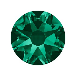 CHATON HOTFIX SS34 -9 UN 205 EMERALD SWAROVSKI ELEMENTS