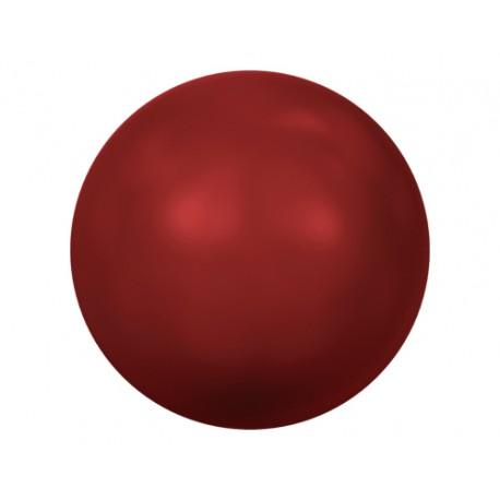 PERLA 4MM -25 UN 718 RED CORAL SWAROVSKI