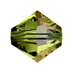 TUPPI 4MM -24UN 228 OLIVINE SWAROVSKI ELEMENTS