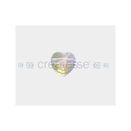 CORAZON 14MM ID 2.5MM - 3 UD 001 CRYSTAL AB SWAROVSKI