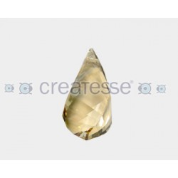 COLGANTE HELIX 37MM- 1UN 001 GOLDEN SHADOW SWAROVSKI ELEMENT