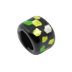 PASADOR CRISTAL REGALIZ 18X13 SPOT-ON-BLACK 02 VERDE