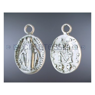 MEDALLA PLATA VIRGEN 11X9 MM