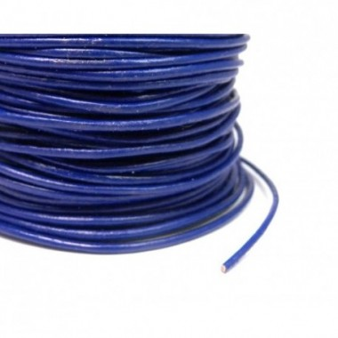CORDON CUERO HINDU N. 126 ROYAL BLUE METRO
