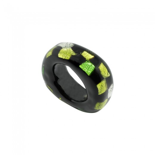PASADOR CRISTAL REGALIZ SPOT-ON-BLACK 02 VERDE