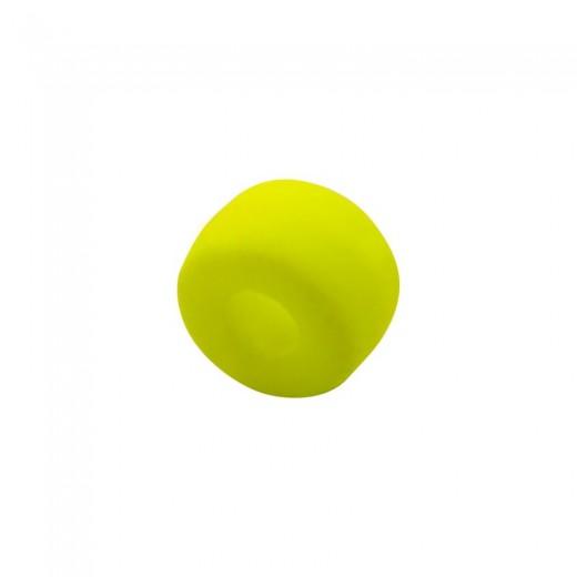 CRISTAL NEON RONDELLA 6MM (ID 2MM) -10 UN