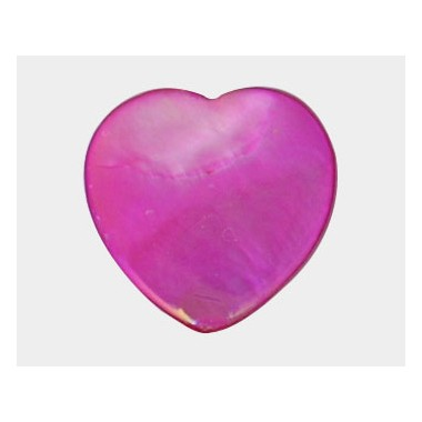 NACAR ROSA 25 MM CORAZON