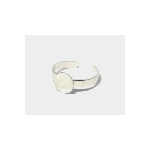 ANILLO METAL BASE REDONDA 8MM