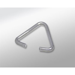 ASA TRIANGULAR PLATA 10MM (1MM GROSOR)