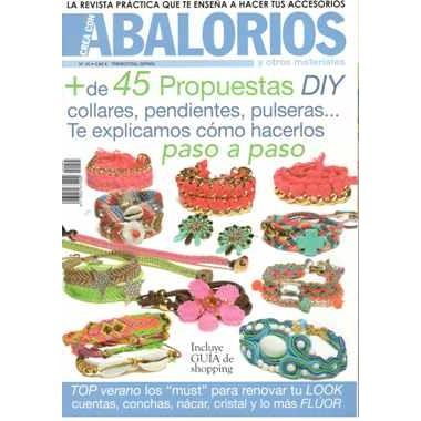 """REVISTA """"CREA CON ABALORIOS"""" Nº45"""
