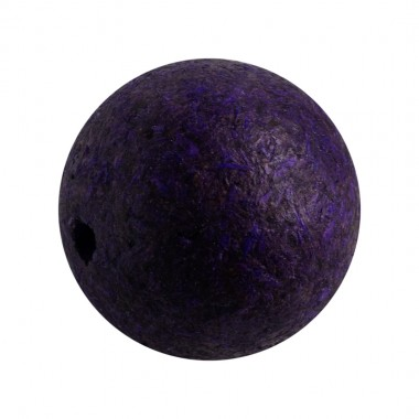 BOLA MADERA ECOLOGICA FILIPINA 25MM (ID 3MM) PURPURA