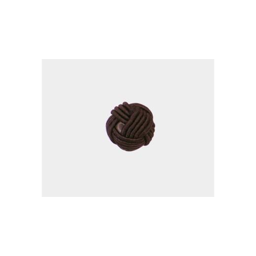 BOLA NUDO CHINO NYLON 12MM MARRON CHOCOLATE