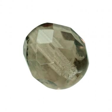 BOLA FACETADA 4MM BLACK DIAMOND 4001 PAQUETE 100 UNIDADES