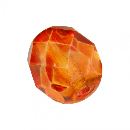 BOLA FACETADA 6MM 42486 FIRE OPAL (25 UNIDADES)