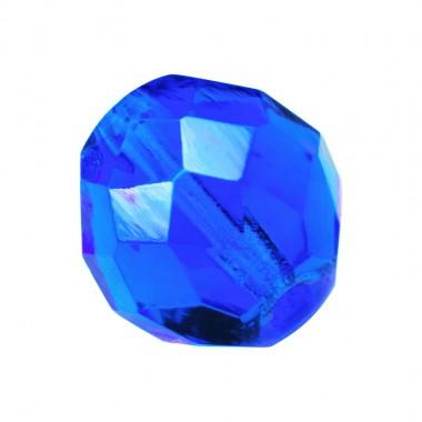 BOLA FACETADA 4MM CAPRI BLUE 6031 PAQUETE 100 UNIDADES