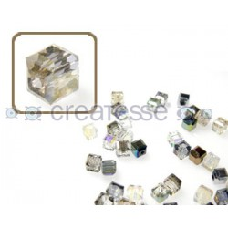 CUBO CRISTAL 4MM (ID 1MM) -20 UN 2451 LIGHT TOPAZ