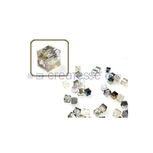 CUBO CRISTAL 4MM (ID 1MM) -20 UN 2451 LIGHT TOPAZ