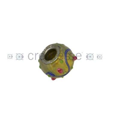 BOLA INTERIOR ID 5 MM 14 MM DORADO-FLORES