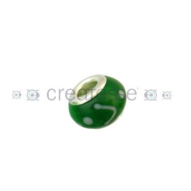 BOLA INTERIOR METAL ID 5 MM 14 MM VERDE-BLANCO