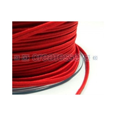 CORDON POLIESTER SOUTACHES 3MM Nº 266 ROJO