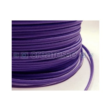 CORDON POLIESTER SOUTACHES 3MM Nº344 MORADO