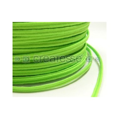 CORDON POLIESTER SOUTACHES 3MM Nº 997 LUMI VERDE