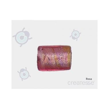 CRISTAL VENICE 20X15 CILINDRO 49 ROSA (ID 2.50MM)