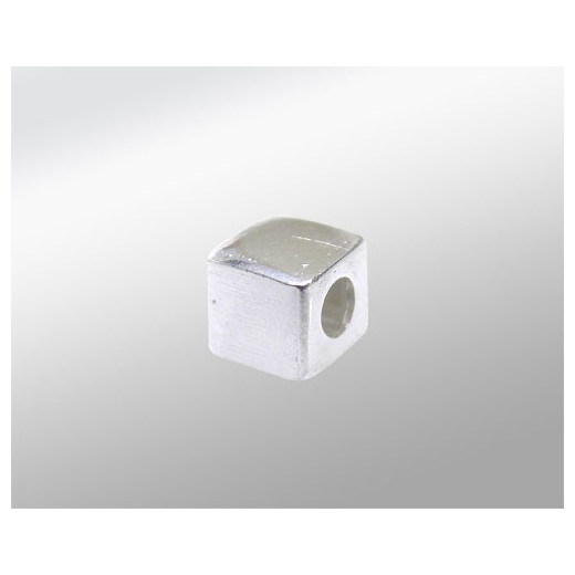 CUBO 4X4 ((ID 2MM) PLATA 925ML