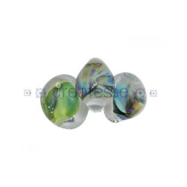 CRISTAL DICROICO LAGRIMA N. 18 BOSQUE-UNIDAD (ID 2MM)