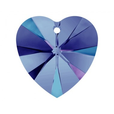 CORAZON 10,3X10- 6UN 001 HELIOTROPE SWAROVSKI ELEMENTS