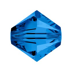 TUPPI 4 MM- 24 UN 243 CAPRI BLUE SWAROVSKI