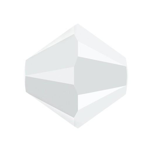 TUPPI 4 MM- 24 UN 281 WHITE ALABASTER SWAROVSKI