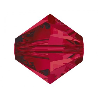 TUPPI 4 MM- 24 UN 501 RUBY SWAROVSKI
