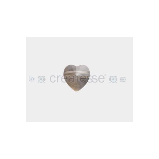 CORAZON 14MM ID 2.5MM - 3 UD 001 GOLDEN SHADOW CRYSTAL