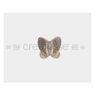 MARIPOSA 14MM ID 2,5MM - 3 UD 001 GOLDEN SHADOW CRYSTAL