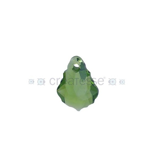 BARROQUE 16X11MM -2UN 228 OLIVINE SW
