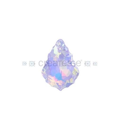 BARROQUE 22X15MM -1UN 001 AB CRYSTAL SWAROVSKI