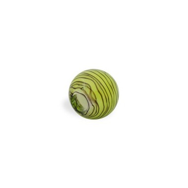 CRISTAL WAVED STRIPES 14MM (TAL. 4MM) PERIDOTO
