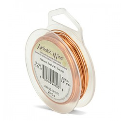 ARTISTIC WIRE 22 (0,64MM) -13,72M NATURAL