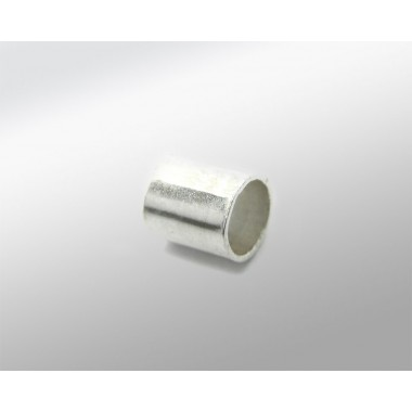 TUBO PLATA 6MM PARA CORDON 3MM