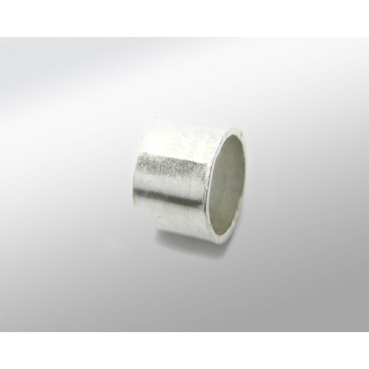 TUBO PLATA 6MM PARA CORDON 7MM